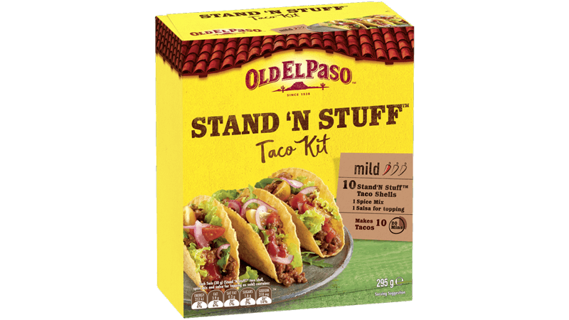 Stand N Stuff Taco Kit Taco Tuesday Spinna