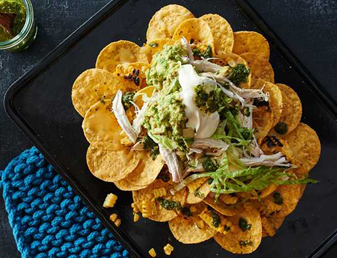 Shredded Chicken Green Nachos_Card