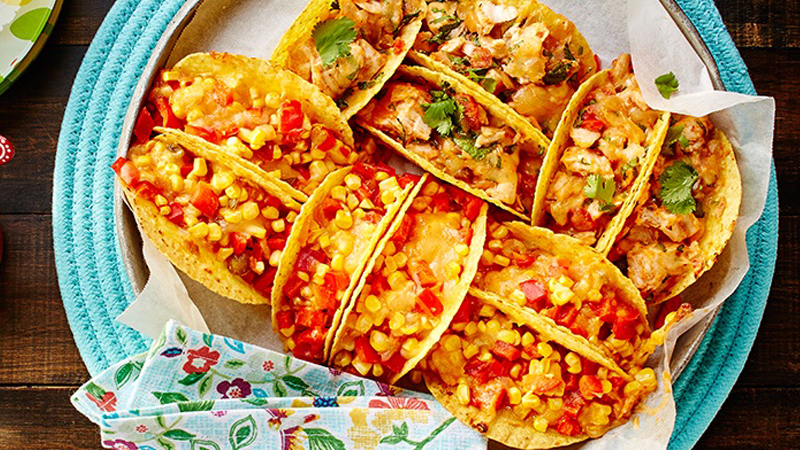 Afterschool Baked Mini Tacos