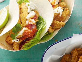 Classic Crispy Chicken Soft Tacos Recipe