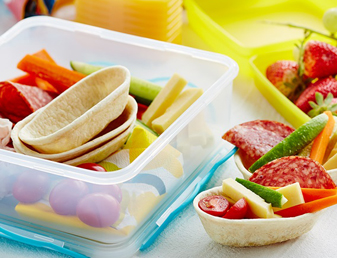 Easy Lunch Box Mini Tacos