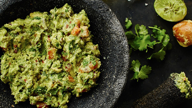 Traditional Smashed Guacamole