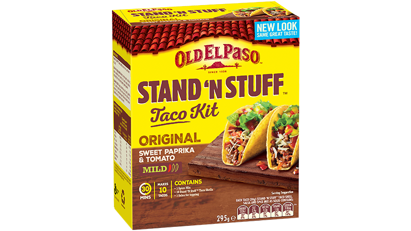 Beef Stand N Stuff Tacos Mexican Recipes Old El Paso Au