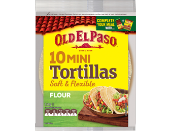 Mini Tortillas 10 Pack
