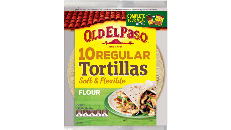 Regular Tortillas 10 Pack