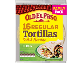 Tortillas Family Pack