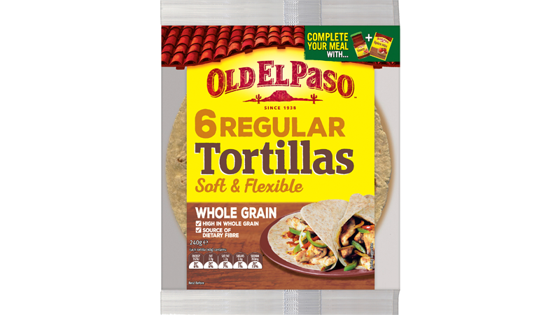 Wholegrain Six Tortillas