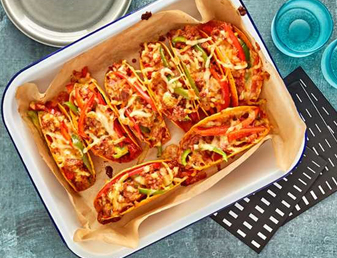 Baked Pizza Bold Tacos