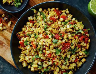 Blackened Corn Salsa
