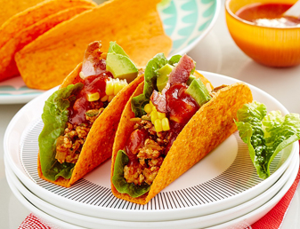 BOLD Chicken Tacos with Bacon and Corn Salsa