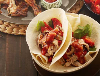 Butterflied Chicken Fajita with Warm Capsicum Salsa Recipe