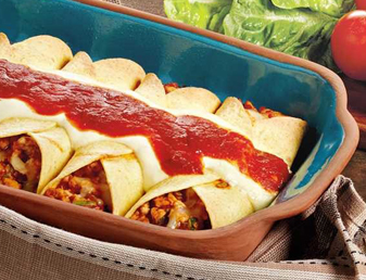 Easy & Simple Classic Chicken Enchiladas Recipe