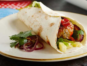 Flame Grilled Fajita Burgers Recipe