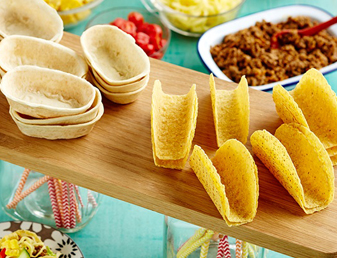 Kids' Party Mini Tacos with Beef and Sweet Potato