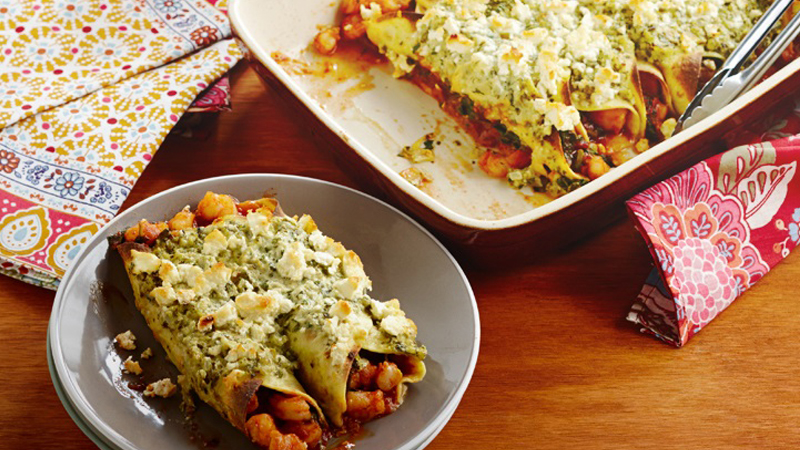 Prawn, Tomatillo and Jalapeño Enchiladas Recipe