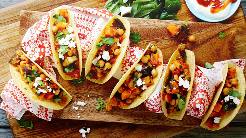 Quick & Easy Classic Vegetarian Tacos Recipe